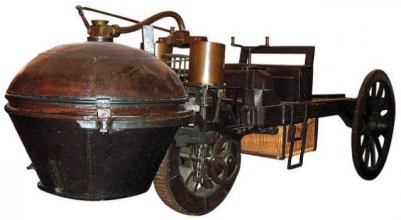 هكذا بدت أول سيارة في العالم