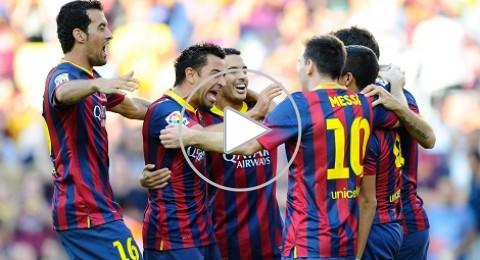 حصة برشلونة التدريبية تنتهي بالفوز 7-0 على ليفانتي
