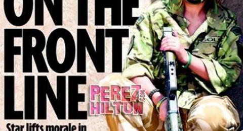 بسبب غنائها لجنود في أفغانستان ..المغنية البريطانية شيريل كول هدفاً لـ