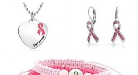 أجمل المجوهرات الوردية دعماً لحملة سرطان الثدي