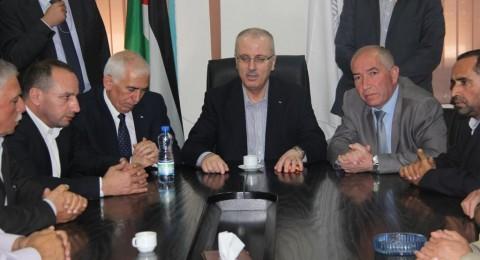 الحمد لله: الخليل كما القدس اولية للقيادة الفلسطينية وتلبية احتياجاتها واجب السرعة