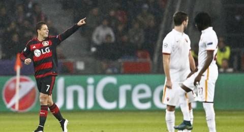 تعادل مثير بين باير ليفركوزن وروما في مواجهة الـ8 أهداف