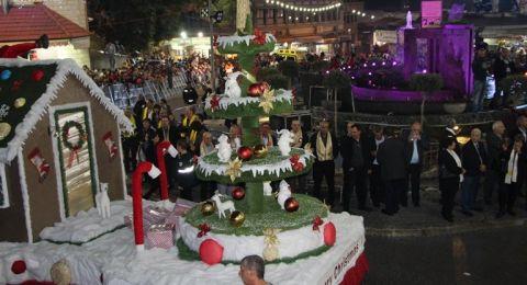 تبرعوا لإنجاح مسيرة وفعاليات الميلاد في الناصرة ..