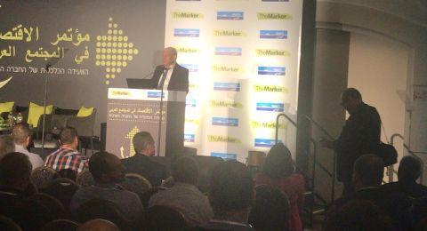 رئيس مجلس إدارة بنك لئومي، دافيد بروديت:  المجتمع العربي يمر في تغييرات داخلية إيجابية ويجب تشجيع هذه التغييرات لأنها ستؤدي الى النمو والتطور