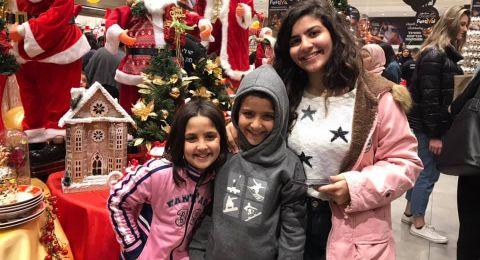 إضاءة شجرة الميلاد في Merkaza نتسيرت عيليت وسط اجواء مميزة