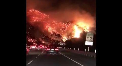 ارتفاع عدد ضحايا حرائق غابات كاليفورنيا إلى 80 شخصا