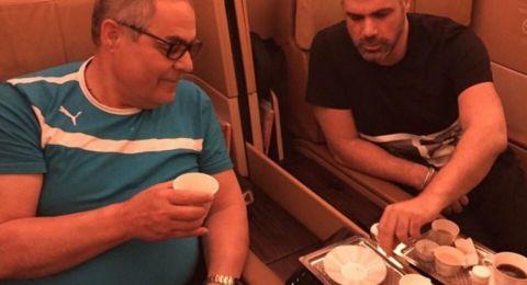 فارس كرم ينشر صورة لوالده الراحل ويوجه له رسالة مؤثرة