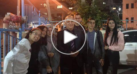 الناصرة: الاحتفال بذكرى المولد النبوي بأجواء بهيجة في قاعة مركز هبايس