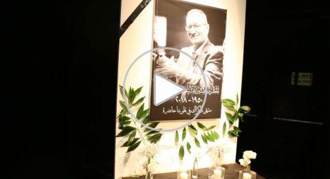 الحشود تشارك في حفل تأبين المرحوم اكرم حسين عبيد الزعبي (أبو اليزيد)