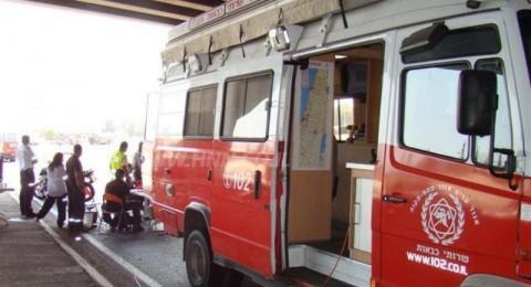 حيفا-تل ابيب: احتراق شاحنة بعد مفرق عتليت