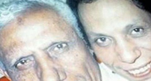 صورة قديمة جدا لعادل امام ووالده
