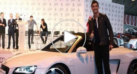 رونالدو يهدي سيارة لكل فرد في الفريق الطبي لريال مدريد