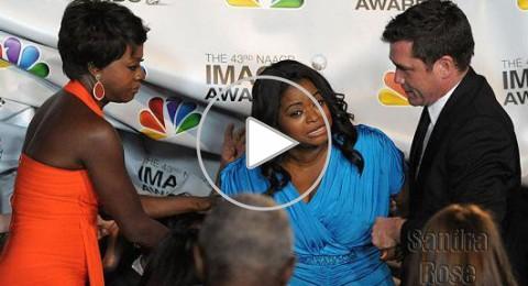 سقوط أوكتافيا سبنسر في حفل جوائز NAACP
