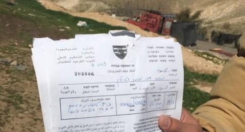 اسرائيل تسلم إخطارات هدم 40 منزلا ومدرسة في