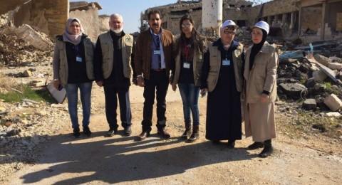 قافلة مساعدات سويدية: الوضع بمخيم اليرموك مأساوي