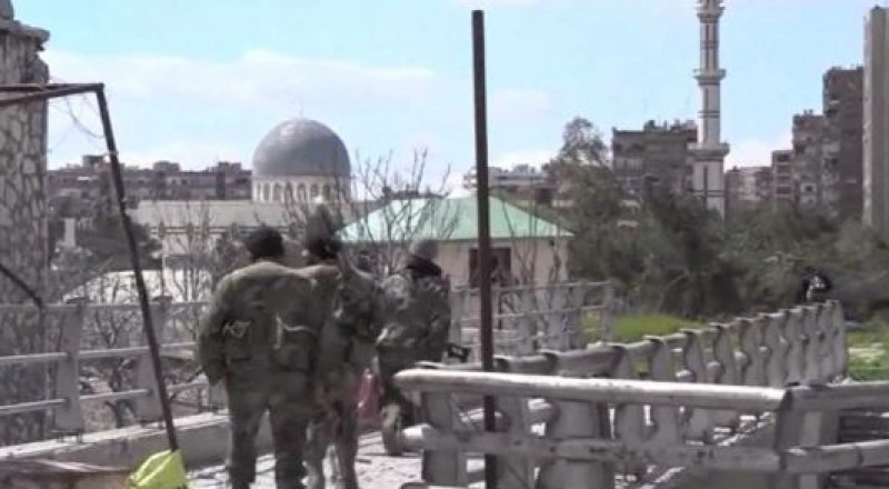 الجيش السوري يستعيد السيطرة بشرق دمشق