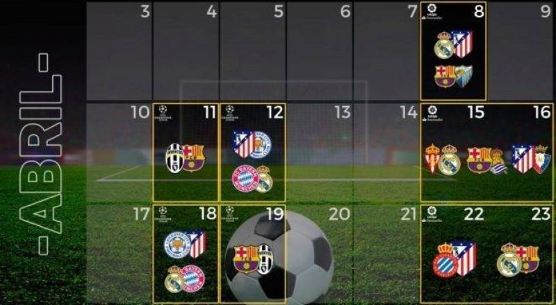 فرق إسبانيا المشاركة بالأبطال تلعب 5 مباريات بـ16 يوم