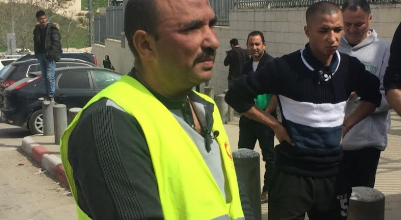 السائق مازن الشويكي : شعرت بالاهانة والالم جراء الاعتداء علي من قبل الشرطي