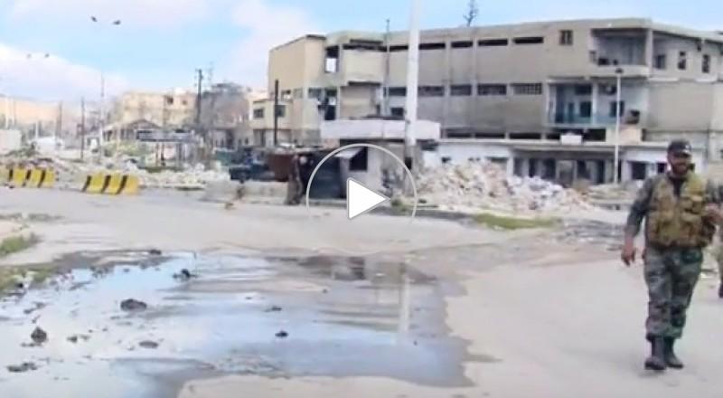 الجيش السوري يستعيد جميع النقاط التي تسلل إليها المسلحون شمال جوبر