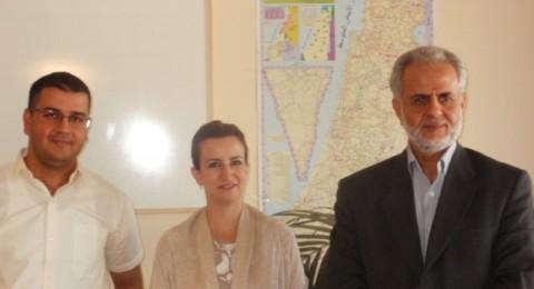 مركز انجاز يعقد لقاءا خاصا مع عضو الكنيست الشيخ ابراهيم صرصور