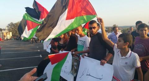 تظاهرة في عارة ضد الإفطار مع شاكيد