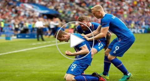 يسلندا تتصدر المجموعة بالفوز القاتل على النمسا وتنقذ البرتغال من الطريق المظلم