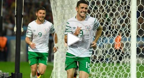 ايرلندا تفوز على ايطاليا و تتأهل للدور الثاني بدلا من تركيا