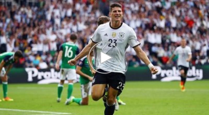 جوميز يقود ألمانيا للفوز على ايرلندا الشمالية والتأهل في اليورو