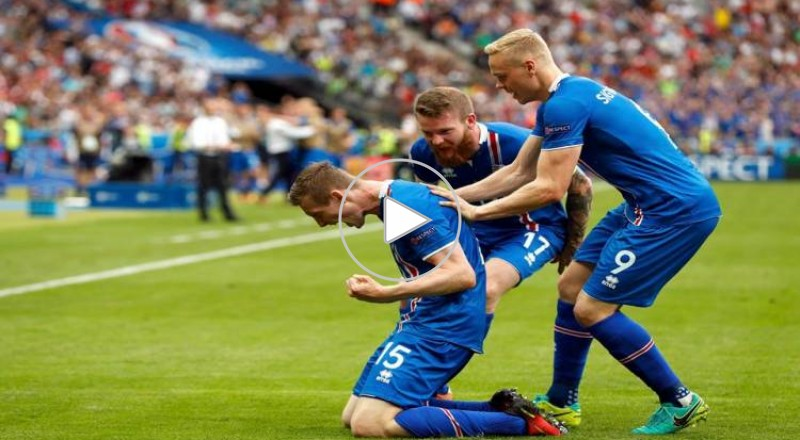 ايسلندا والنمسا 2-1