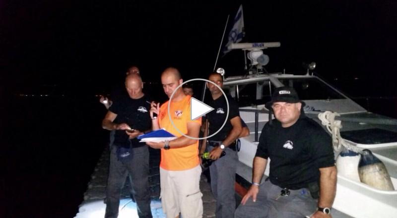غرق الشاب خليل أبو سنينة (19 ع) من القدس في طبريا، وأعمال البحث مستمرة
