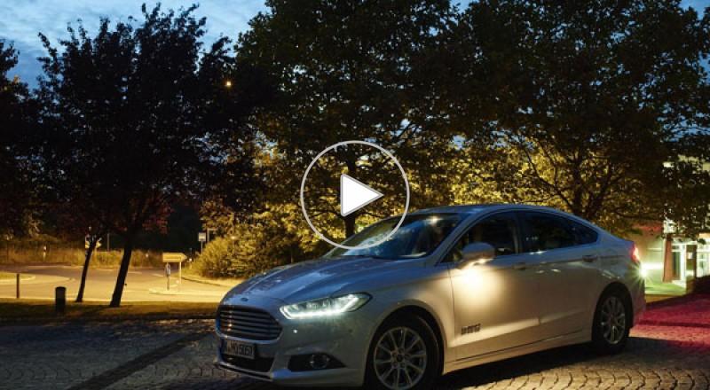 فورد تكشف عن تقنية إضاءة جديدة تعتمد على الكاميرات