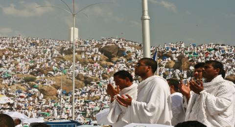 مباشر: حُجاج الرحمن يقفون في عرفة لاداء الركن الأعظم