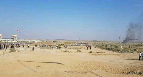189 إصابة بالرصاص الاسرائيلي على الحدود الشرقية لقطاع غزة