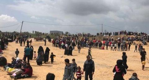 الفلسطينيون يستعدون لجمعة (الوفاء للطواقم الطبية والإعلامية)