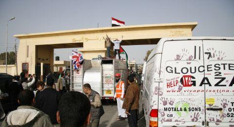 عبر معبر رفح.. وفود الفصائل المشاركة بحوارات القاهرة عادت لقطاع غزة
