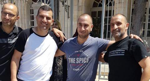 ام الفحم: اطلاق سراح الشباب الـ3 المعتقلين في أعقاب عملية القدس