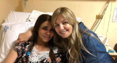 """اول صور لنجمة """"آراب أيدول"""" في المستشفى بعد الحادث المروع!"""