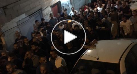 أهالي أم الفحم تودع الشهيد أحمد محاميد