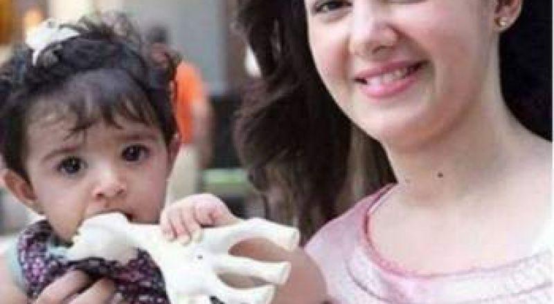 لاول مرة تسريب صورة لـ كايلا ابنة دنيا سمير غانم ..فهل تشبهها؟