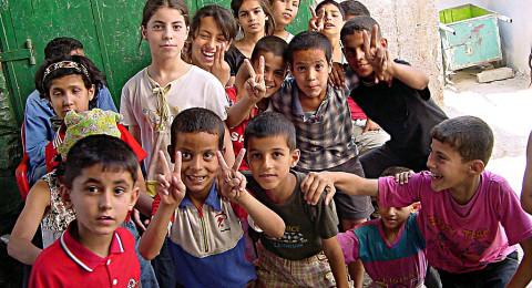 45.6% من سكان فلسطين أطفال