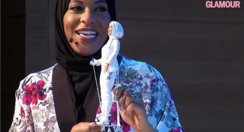 ابتهاج محمد، أول باربي محجبة ترتدي زيّ بطلة أولمبيّة