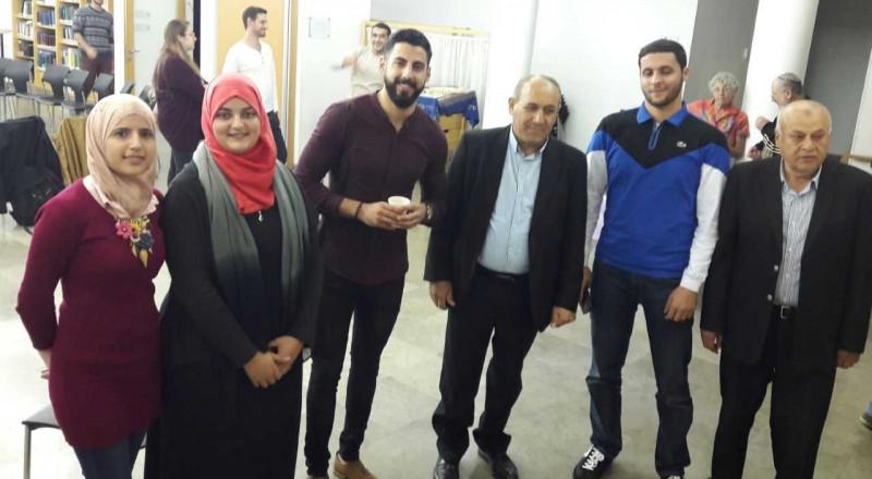 افتتاح مشروع תג מאיר في القدس لمناهضة العنصرية بحضور وحدة المشركة المجتمعية
