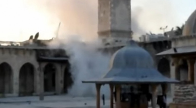 روسيا تخصص أموالا لترميم الجامع الأموي في حلب