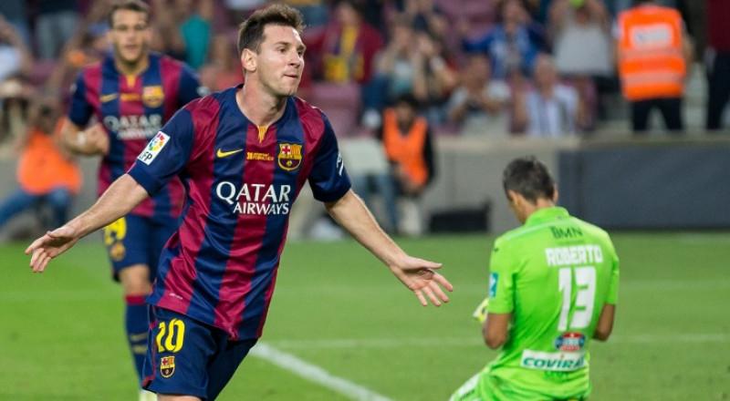 ميسي يجدد تعاقده مع برشلونة بشرط جزائي خيالي