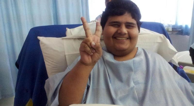 أضخم شاب سعودي يظهر بوزنه الجديد