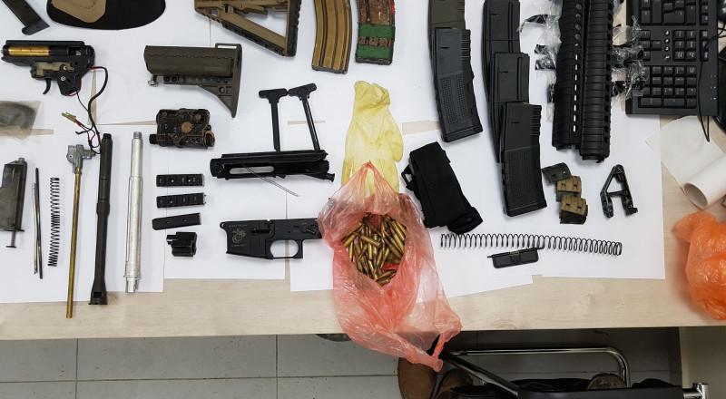 برطعة: مداهمة منزل وضبط اسلحة واعتقال مشتبه