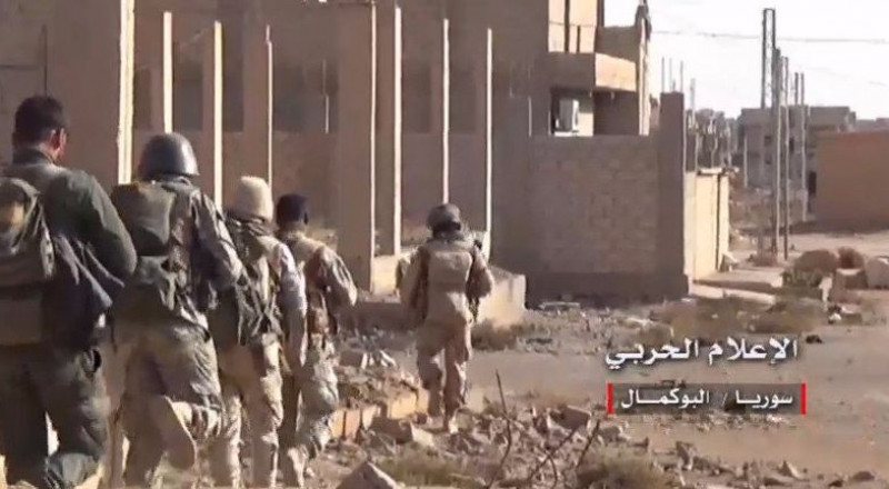 الجيش السوري يحرر مدينة البوكمال بالكامل من براثن داعش الارهابي