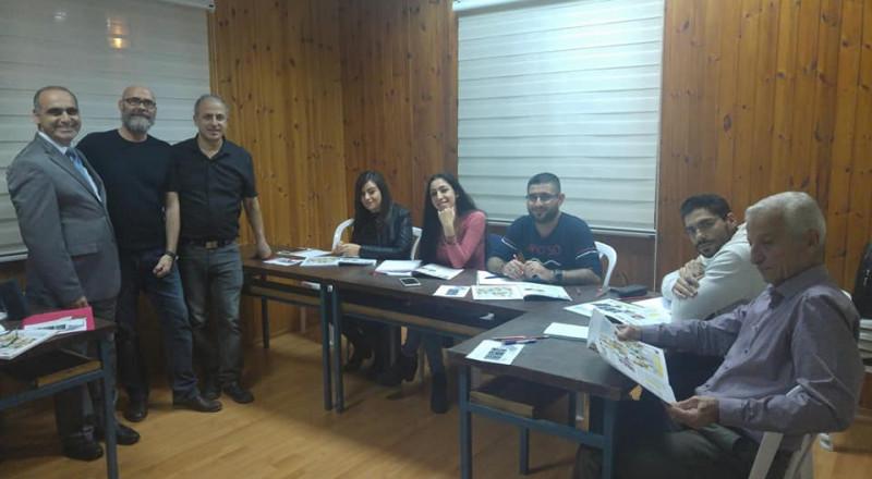 لأول مرة في الوسط العربي: القنصل ابونصار يشارك بافتتاح دورة لتعليم اللغة الاسبانية