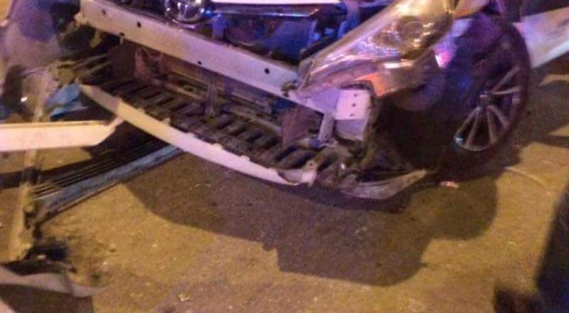 طبريا: حادث طرقات ذاتي وعدة اصابات متوسطة