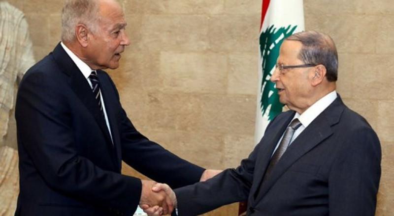 الرئيس اللبناني لأبو الغيط: إسرائيل استهدفتنا وما زالت ومن حقنا مقاومتها بكل الوسائل